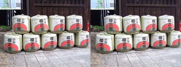 櫻正宗記念館「櫻宴」④(平行法)