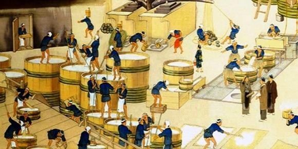江戸時代の酒造り
