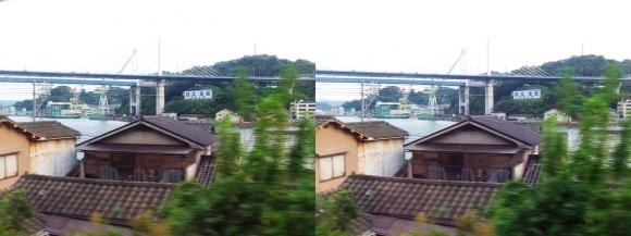 尾道車窓風景③(平行法)