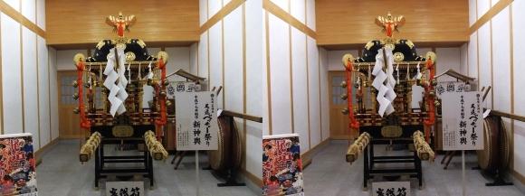 尾道ベッチャー祭り御旅所 新神輿(平行法)