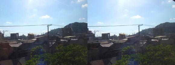 尾道車窓風景①(平行法)