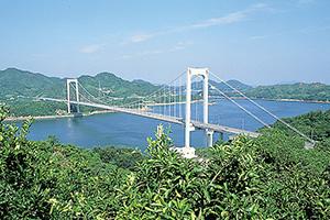 伯方・大島大橋(伯方島⇔大島)