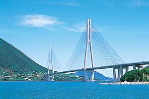 多々羅大橋(生口島⇔大三島)