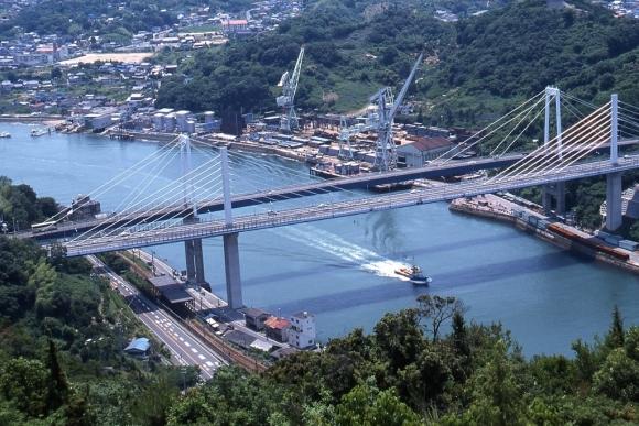尾道大橋・新尾道大橋(尾道⇔向島)