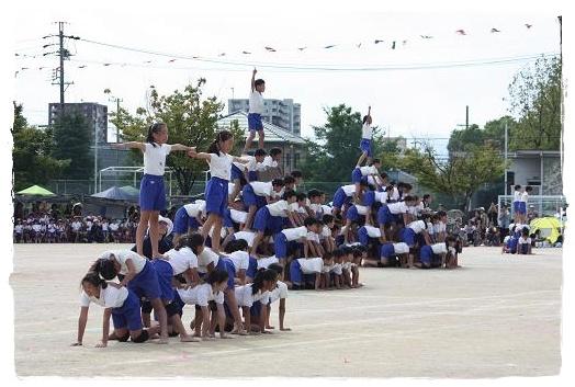 組体操大ピラミッド