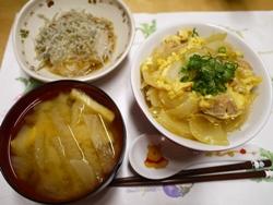親子丼2015-9