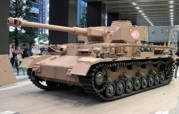 ガールズ&パンツァー「Ⅳ号戦車日本上陸作戦です!」あんこうチーム実物大Ⅳ号H型Panzerkampfwagen IV Pz.Kpfw.IV Ausf H