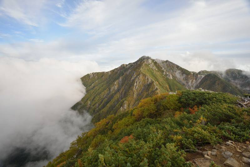 木曽駒ヶ岳~空木岳 (69)