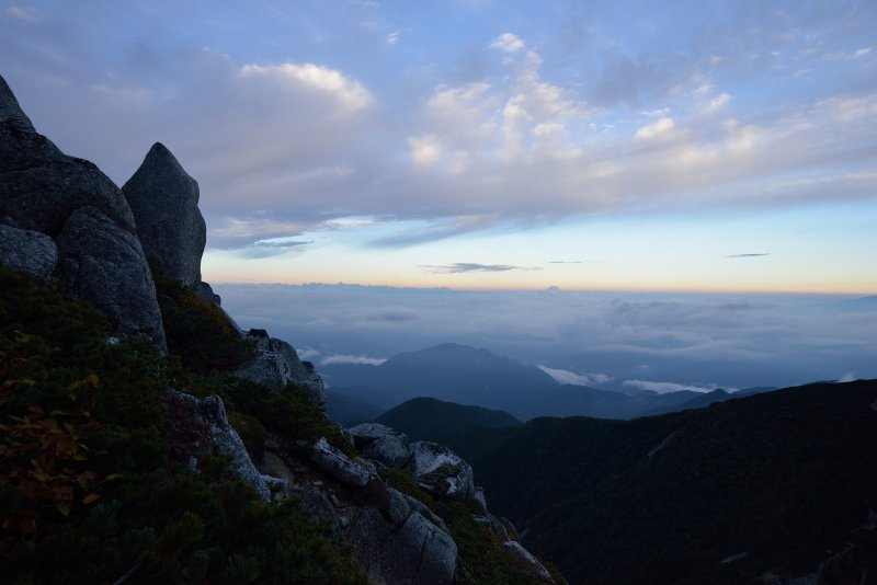 木曽駒ヶ岳~空木岳 (80)
