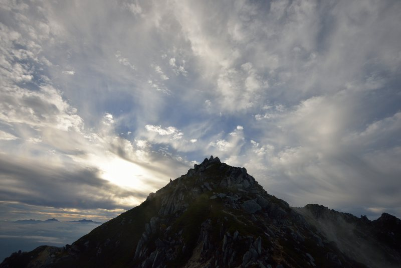木曽駒ヶ岳~空木岳 (90)