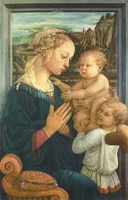 聖母子と天使