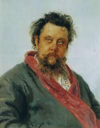 ムソルグスキーの肖像