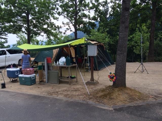 キャンプ夏3