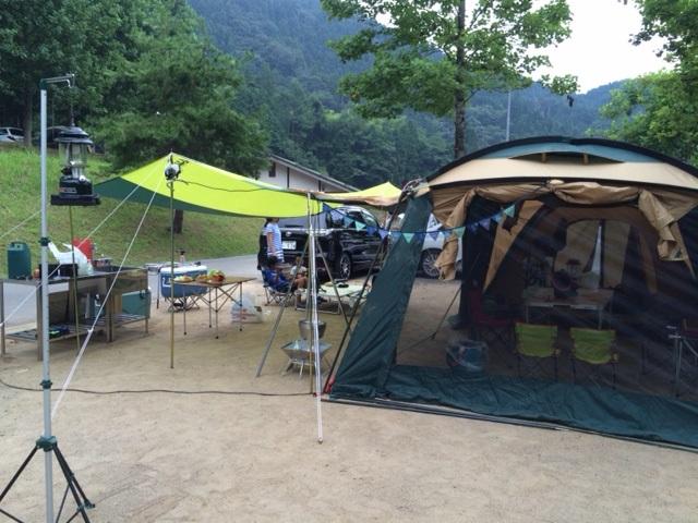 キャンプ夏4