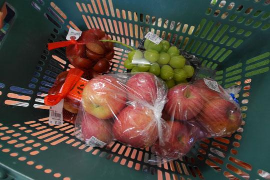 005栗とリンゴとシャインマスカット