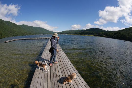 105木崎湖桟橋