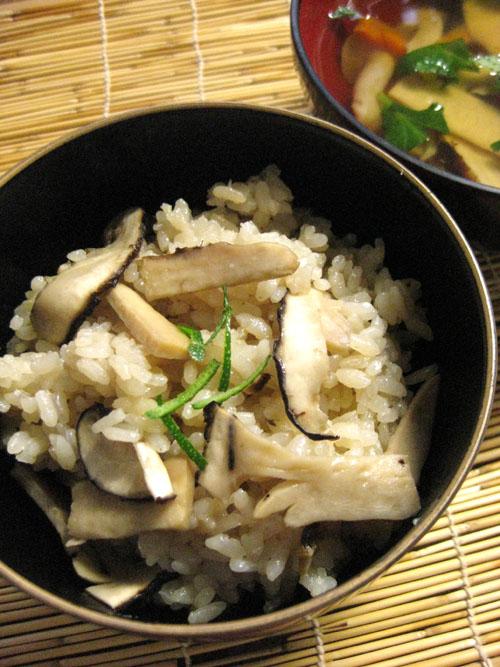 松茸御飯09