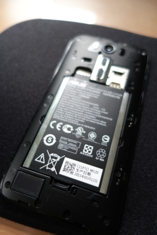 奥様 Zenfone 2 Laser
