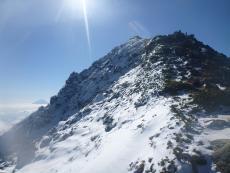 北岳と富士山(2)