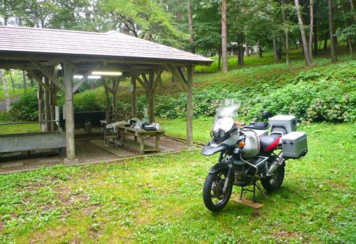 1軽米町キャンプ場