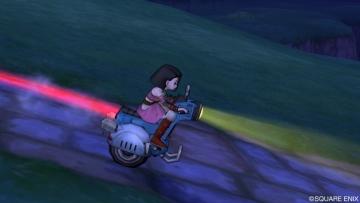 夜間のドルバイク