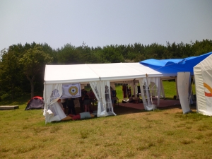 宗教テントコーナー・イスラムテント