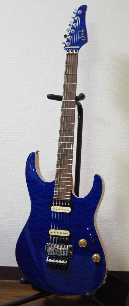 Suhr_Modern_Trans_Blue_Front