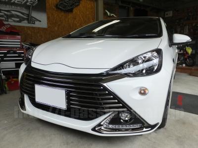 愛知県のカーセキュリティショップ トヨタ・アクアG's