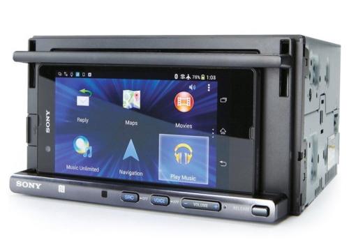 SONY カーオーディオ XSP-N1BT スマホ対応