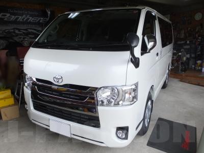 愛知県のカーセキュリティショップ トヨタ・ハイエース