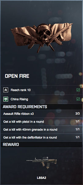 BF4 OPEN FIRE