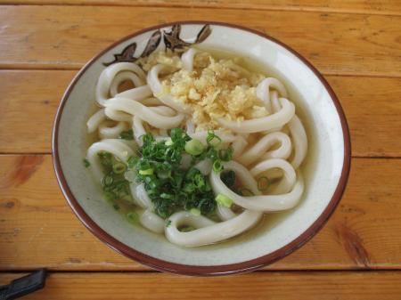 かけうどん中(太剛麺ver)