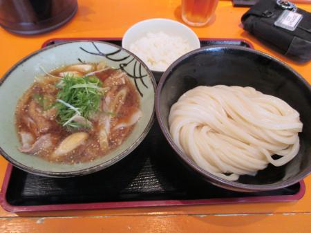 豚バラの肉汁つけ麺