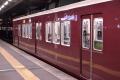 阪急6000系6050F(先頭元2200系)Hマークと旧社章(20151013)