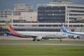 AAR A321-200 【HL7729】 OZ1137 ITM-CJU①(20150922)