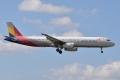 AAR A321-200 【HL7763】 OZ1147 CJU-ITM②(20150920)