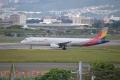 AAR A321-200 【HL7763】 OZ1139 ITM-TAE①(20150920)