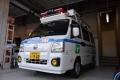 サンバー救急車【多目的用】①(20151017)