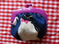 ペンギンがま口裏