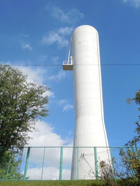 高ヶ坂住宅の給水塔
