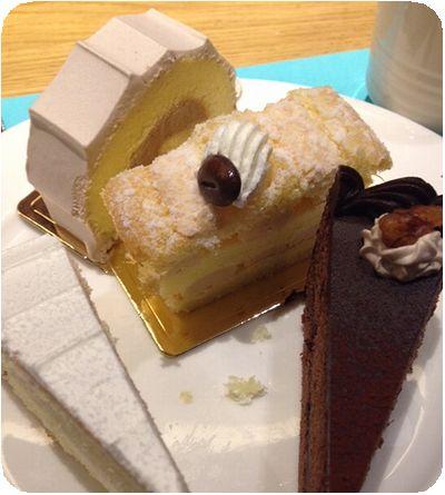 饗食天堂ケーキ