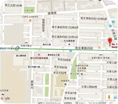 Avenir Cafe地図