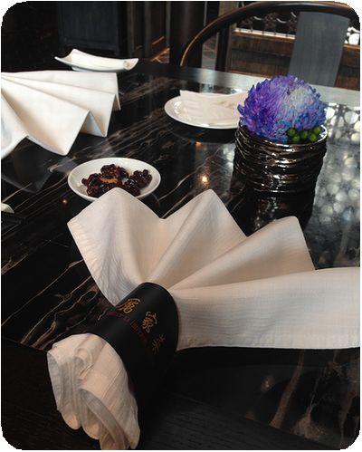 厲家菜テーブル