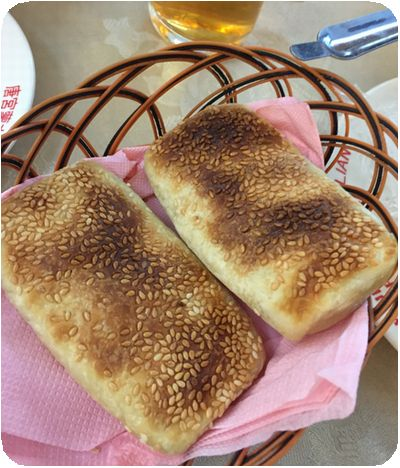 唐宮蒙古烤肉パン