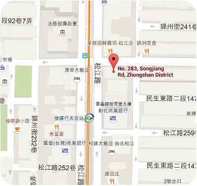 唐宮蒙古烤肉地図