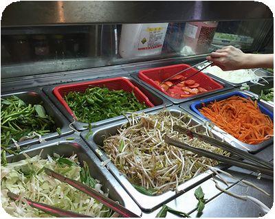 唐宮蒙古烤肉野菜