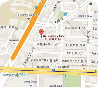 Café Café地図