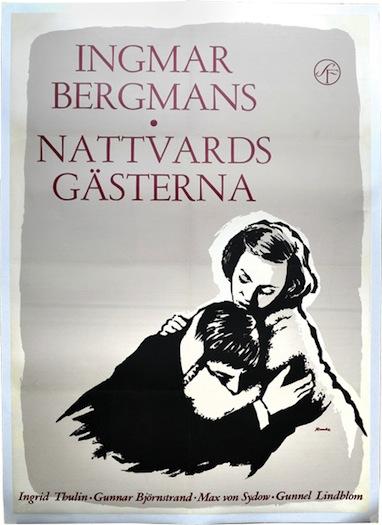 Nattvardsgasterna Poster