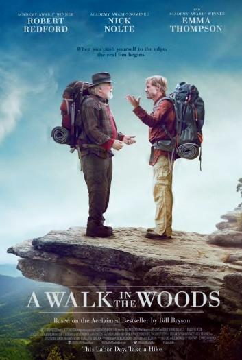 Walk in Woods Poster