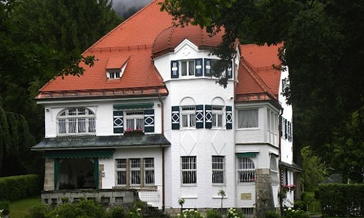 Strauss Garmisch house